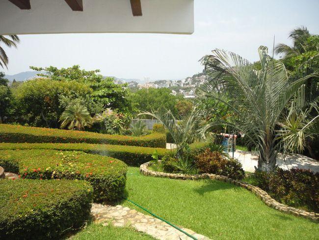25 de 28: casa con vista a la bahia en las playas de acapulco