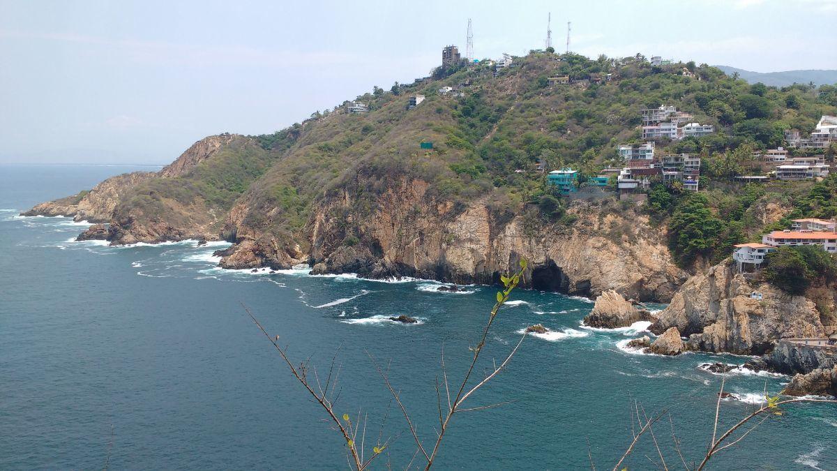 28 de 28: casa con vista a la bahia en las playas de acapulco