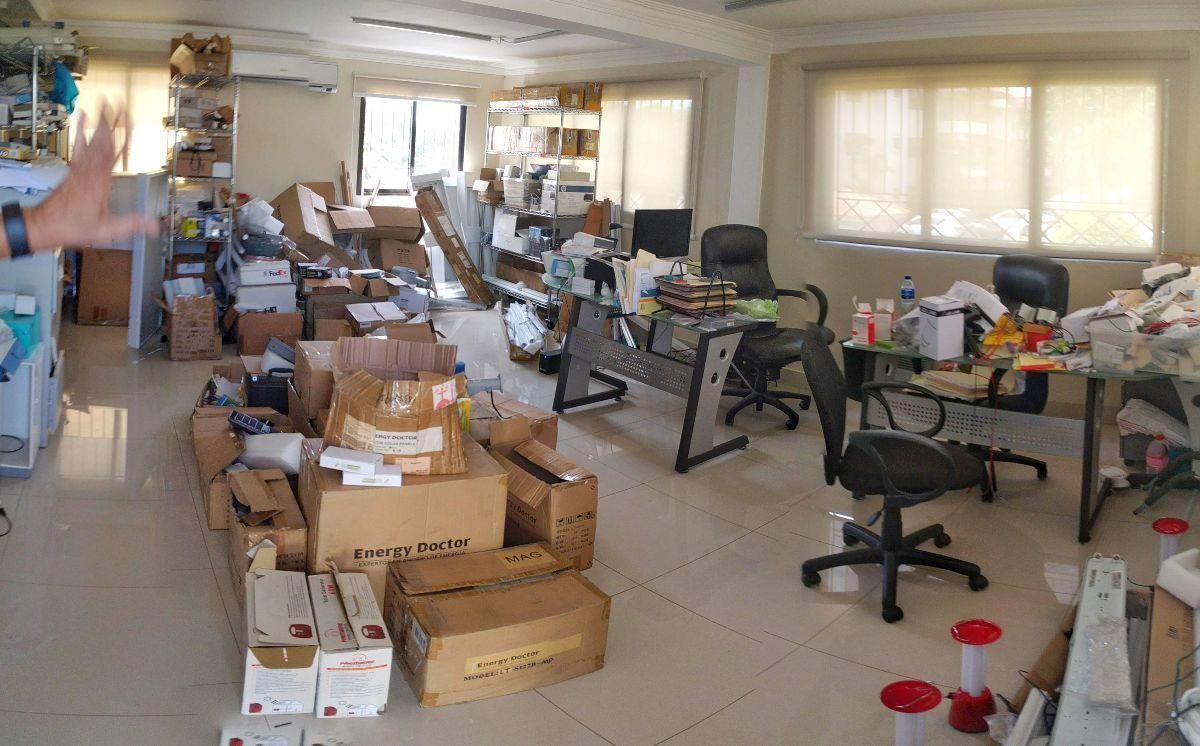 14 de 16: Interior de la oficina.
