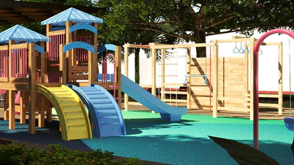 25 de 26: Área de Juegos Infantiles