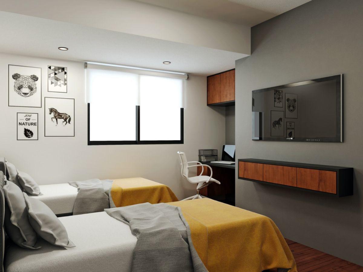 11 de 12: Foto Referencial del Dormitorio Secundario