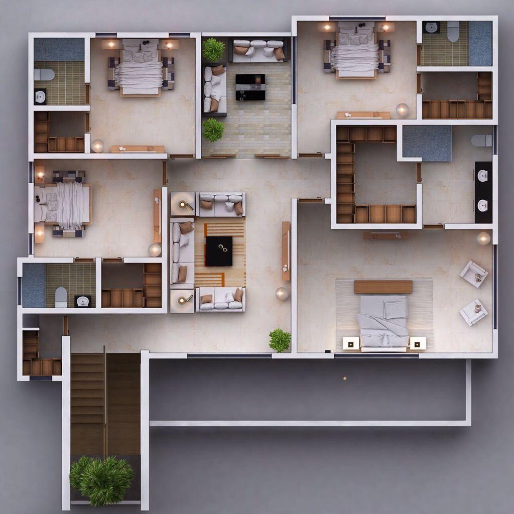 4 de 6: Planta segundo piso