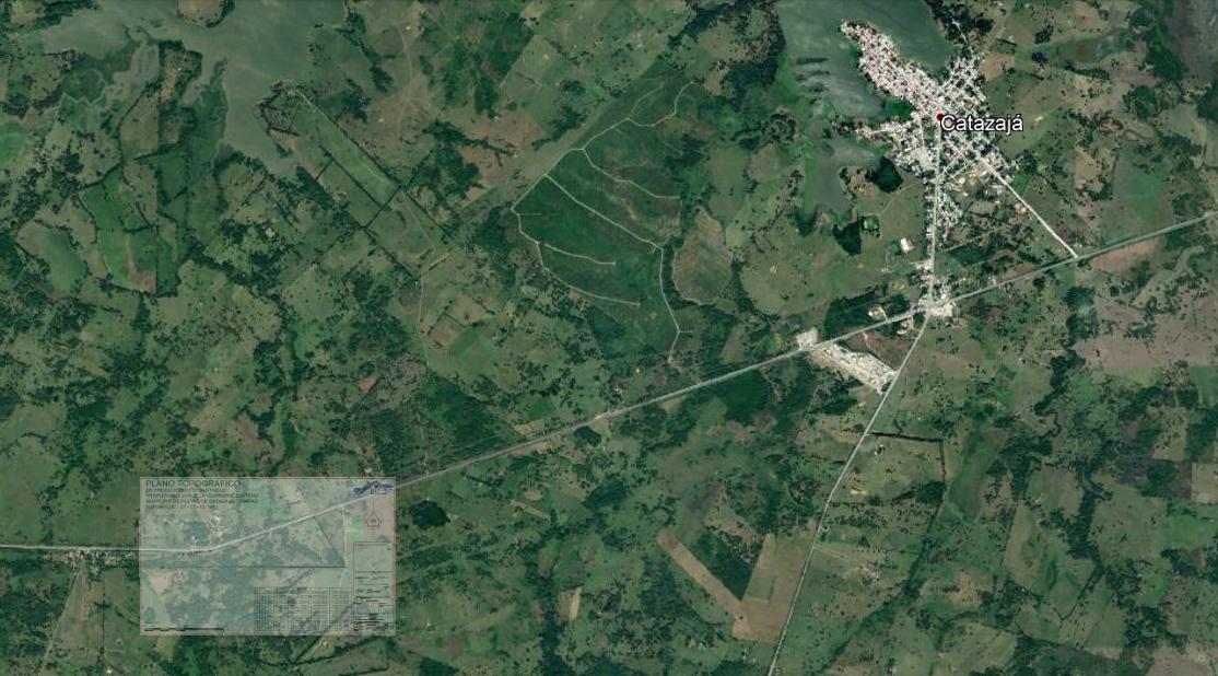 2 de 9: Vista aérea. Propiedad a  5 minutos de Catazajá