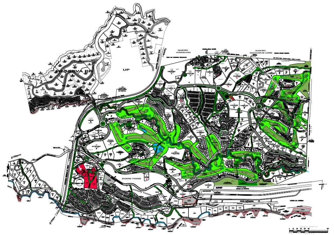 4 de 4: Ubicación de la zona comercial dentro de Bosque Real.