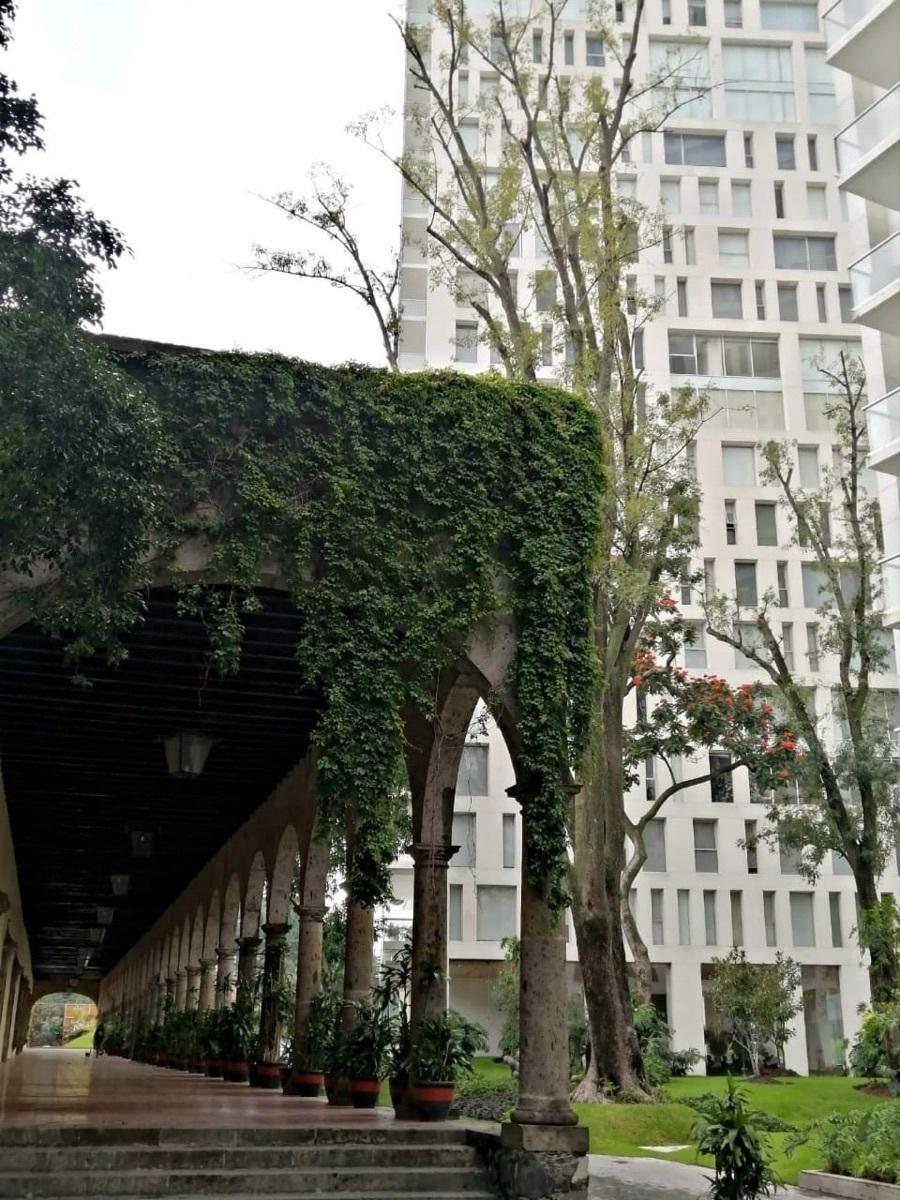 13 de 37: terraza decorativa con jardines