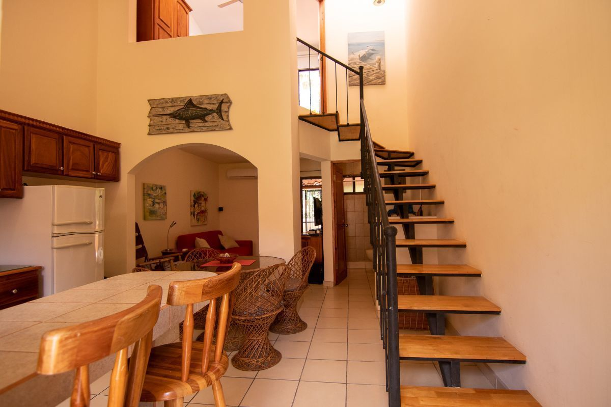 3 of 14: Kitchen, stairs and living room