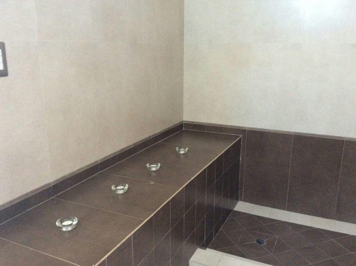 19 de 22: Baño sauna