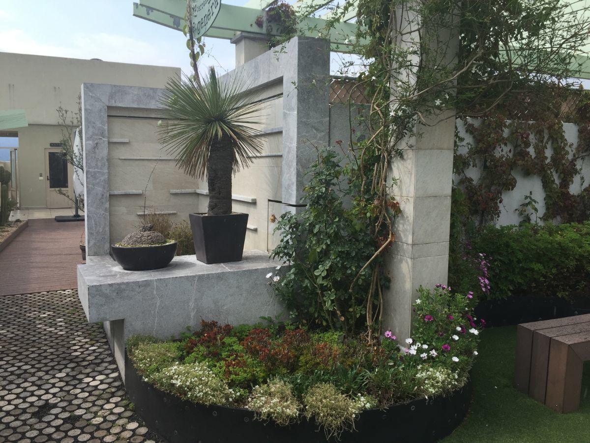 9 de 20: fuente roof garden