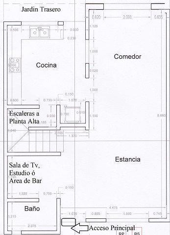 10 de 22: PLANO DE DISTRIBUCION PLANTA BAJA