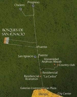 2 de 3: TERRENOS DE INVERSIÓN EN VENTA. CARRETERA MÉRIDA-PROGRESO
