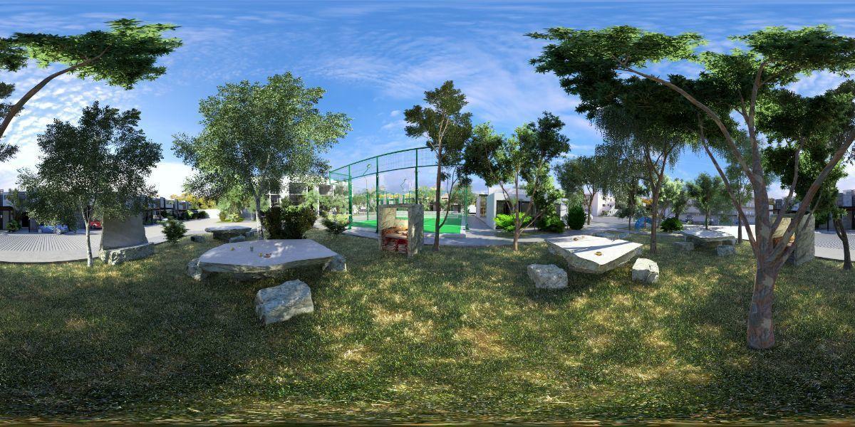 7 de 13: Amenidades Jardín y Cancha pádel