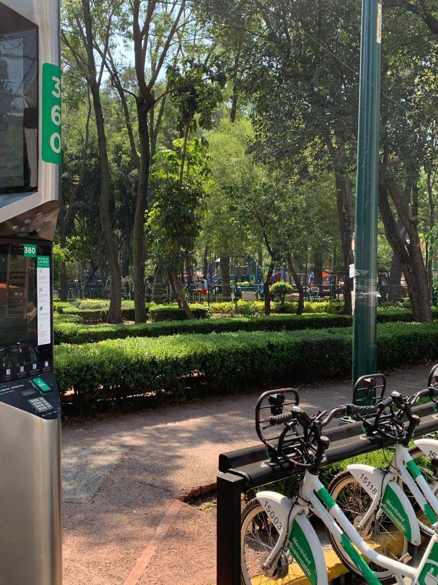 17 de 17: Estación Ecobicis - Parque las Arboledas
