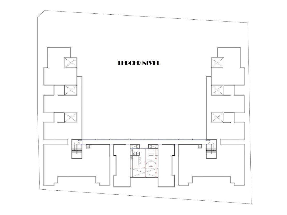 15 de 15: Plano Terraza Bar