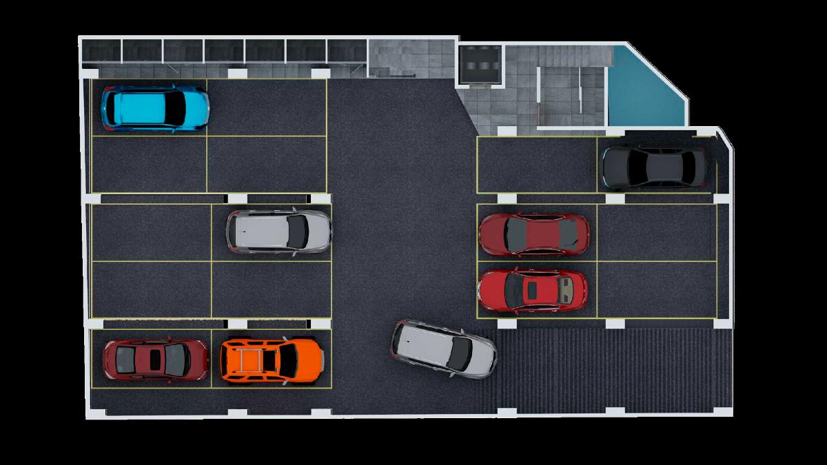 8 de 9: Estacionamiento