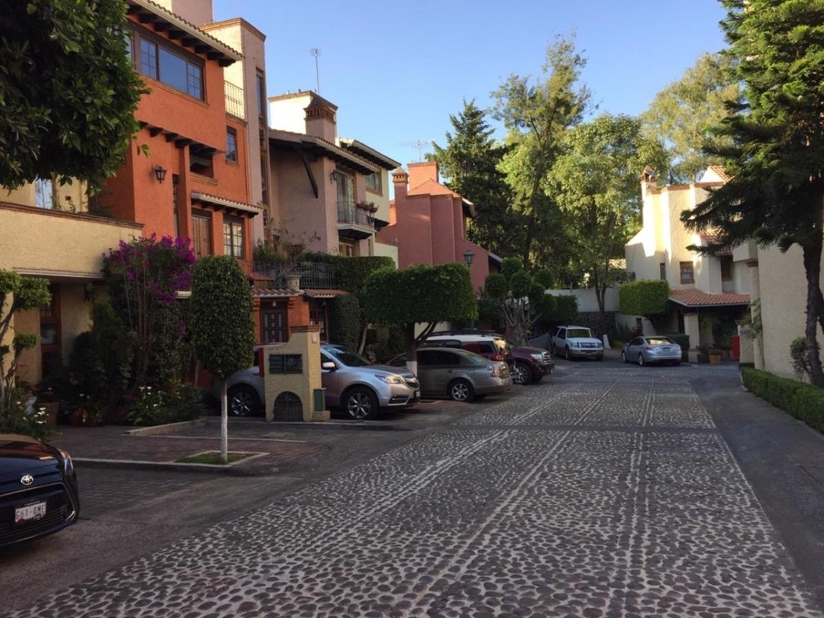 8 de 9: Calle interior empedrada