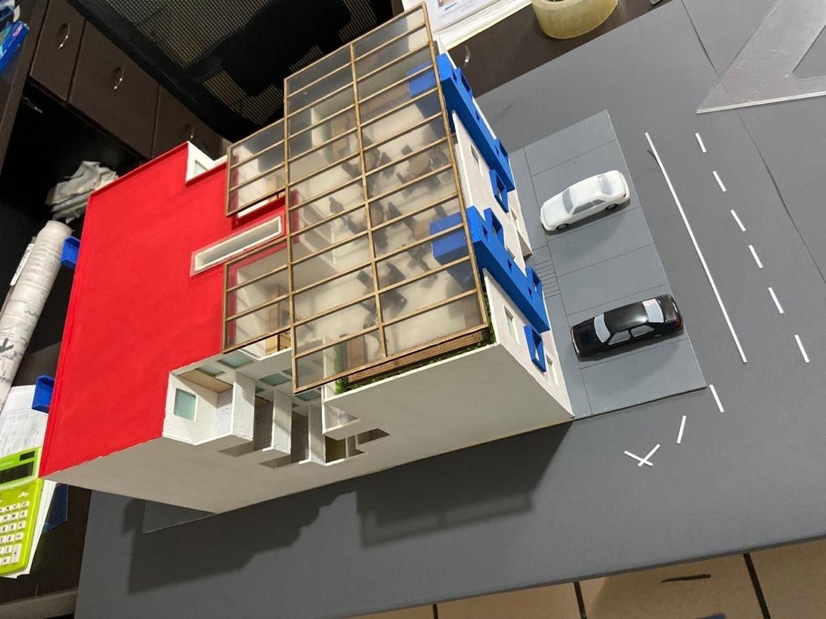 1 de 12: Vista aérea del edificio