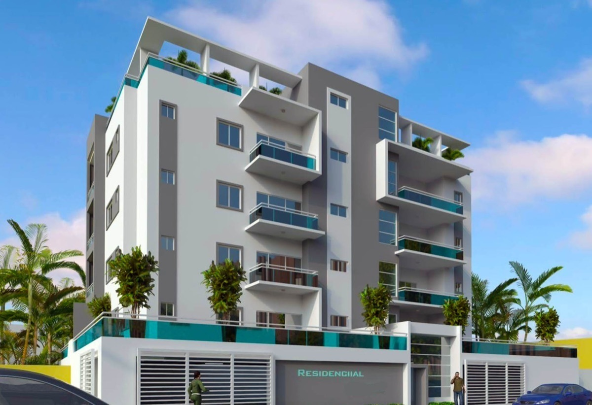 Apartamento Segundo Piso Con Terraza En Contrucción