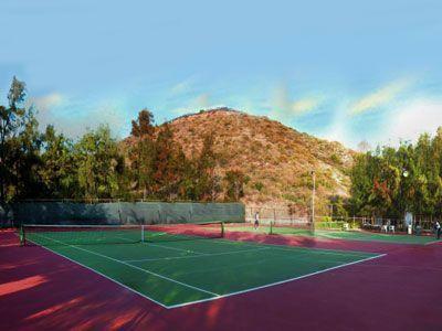 8 de 14: Cancha de tennis