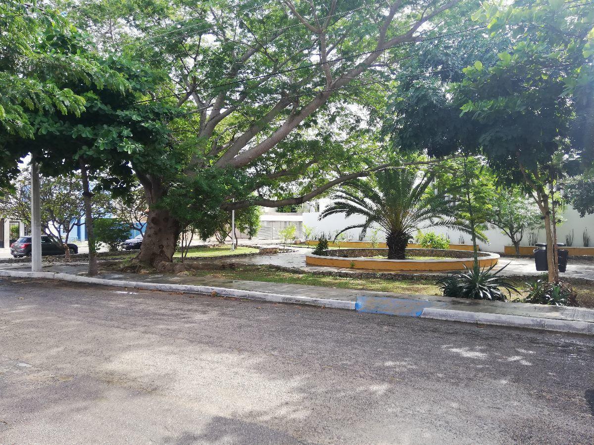 19 de 29: Frente a parque en calle cerrada solo transito local