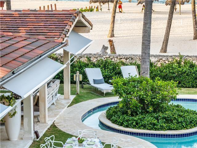4 de 50: Villa ocean Front  dormitorios vacaciones de grupo punta can