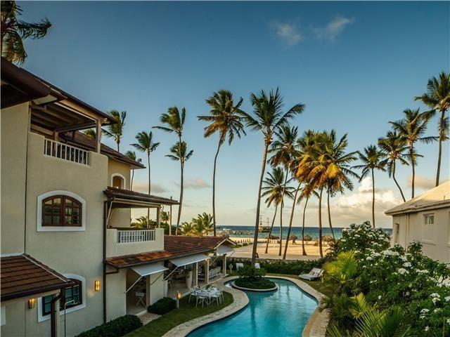 7 de 50: Villa ocean Front  dormitorios vacaciones de grupo punta can