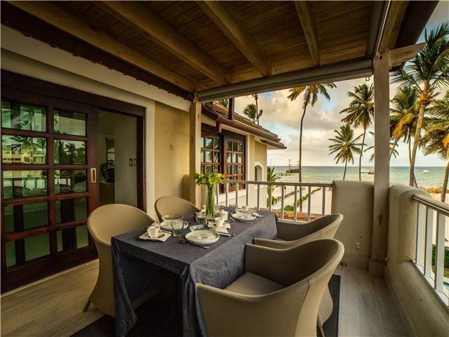 10 de 50: Villa ocean Front  dormitorios vacaciones de grupo punta can