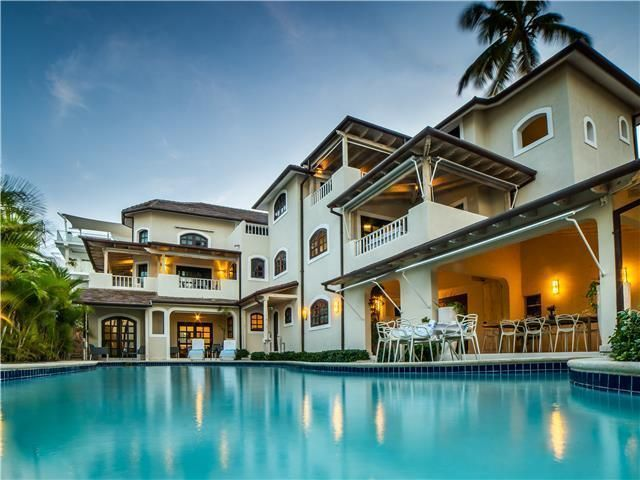 1 de 50: Villa ocean Front  dormitorios vacaciones de grupo punta can