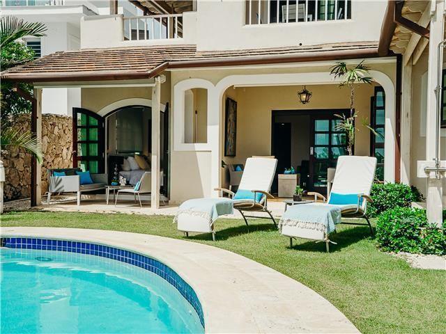 29 de 50: Villa ocean Front  dormitorios vacaciones de grupo punta can