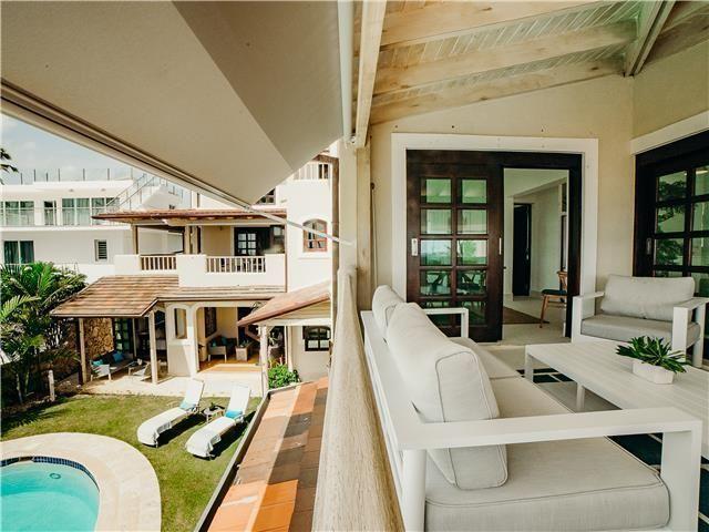 43 de 50: Villa ocean Front  dormitorios vacaciones de grupo punta can