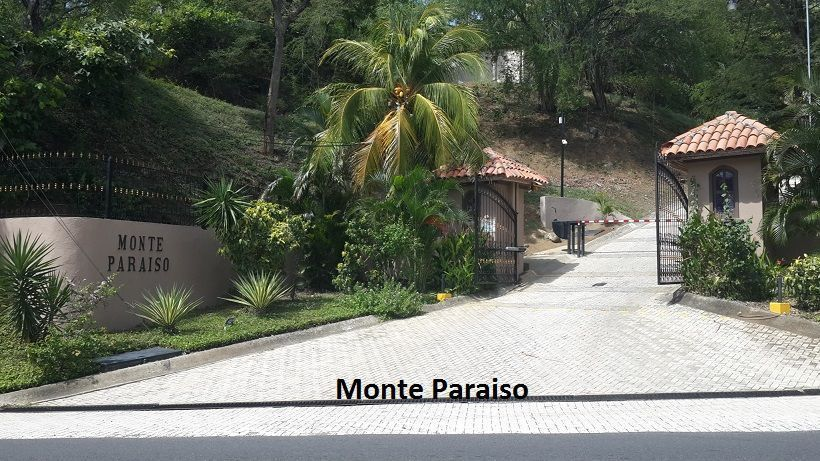 1 of 3: Entrance to Monte Paraiso