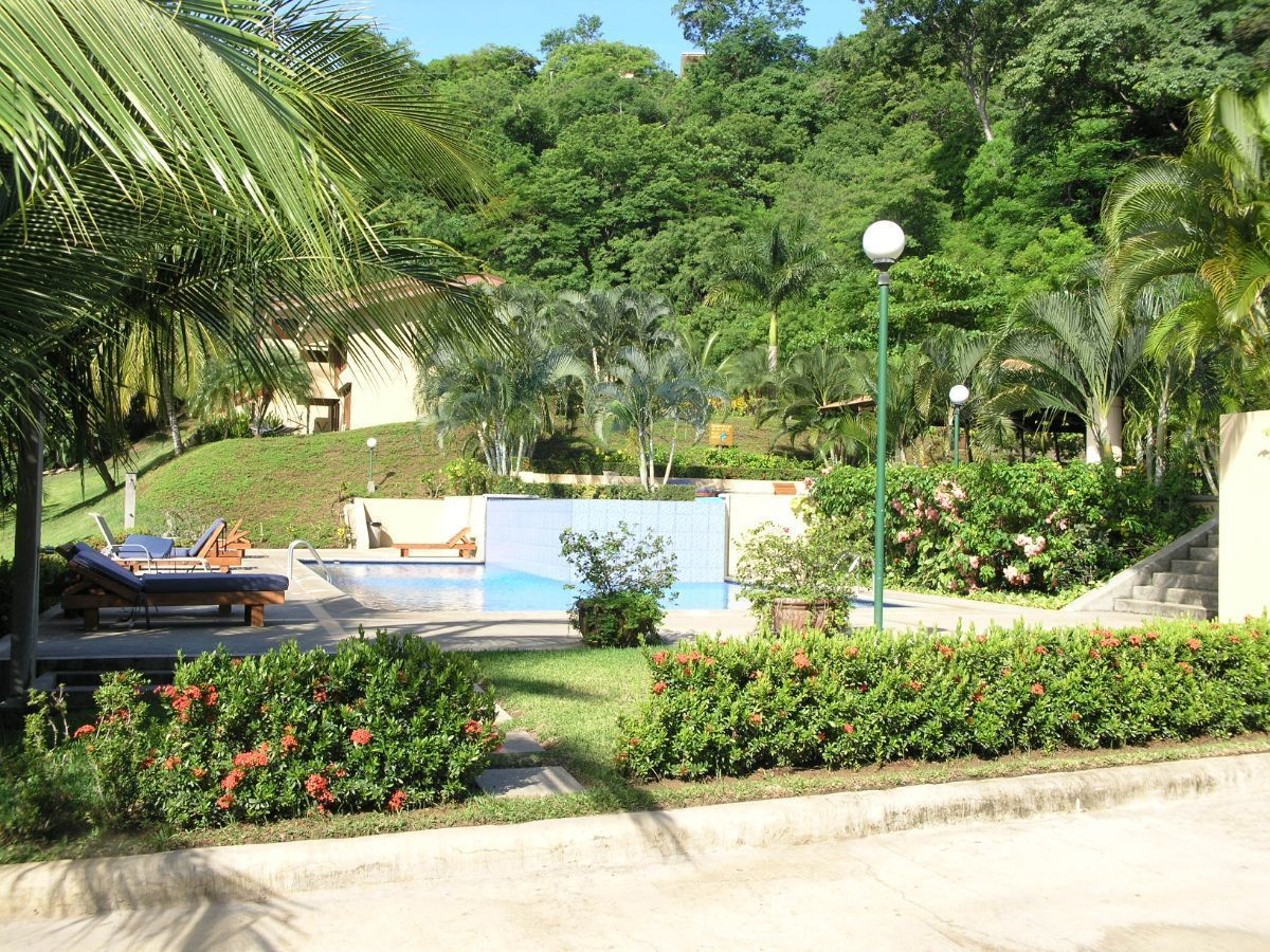 2 of 12: Main swimming pool and restaurant