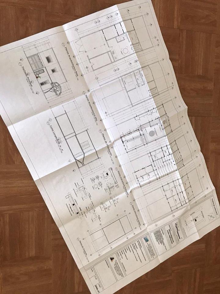 6 de 7: Plano del proyecto para el 2do. piso