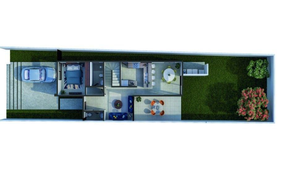2 de 7: Casa en venta con piscina en Mérida promoción