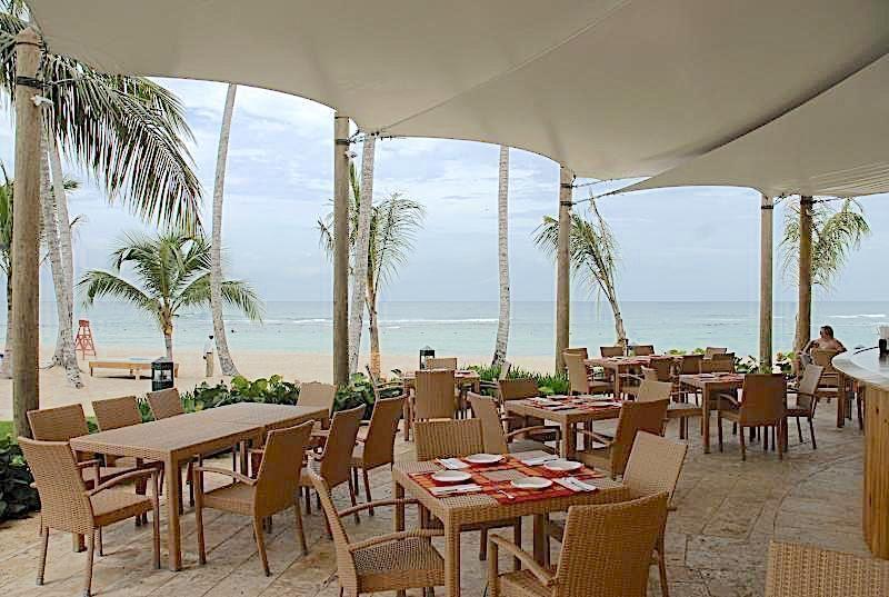 6 de 19: Restaurant de playa exclusivo