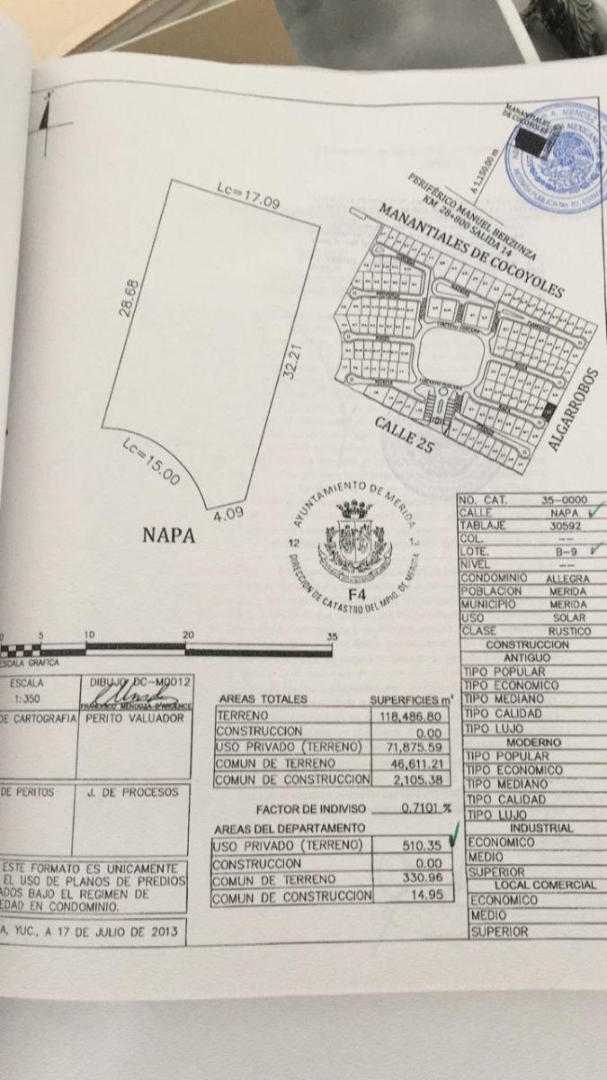 2 de 5: Especificaciones del terreno