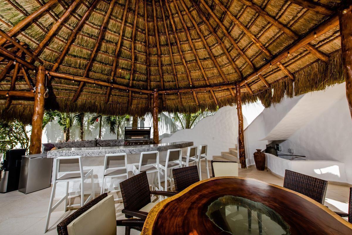 19 of 21: Casa frente al mar a la venta Tulum
