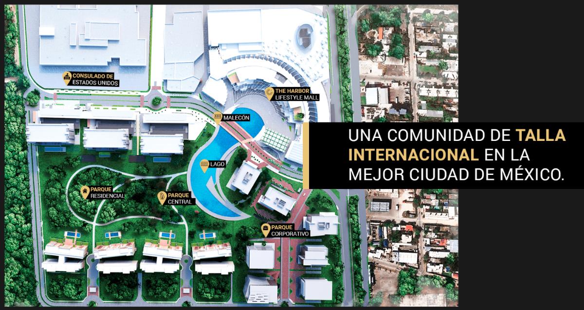 5 de 29: Masterplan del desarrollo Via Montejo