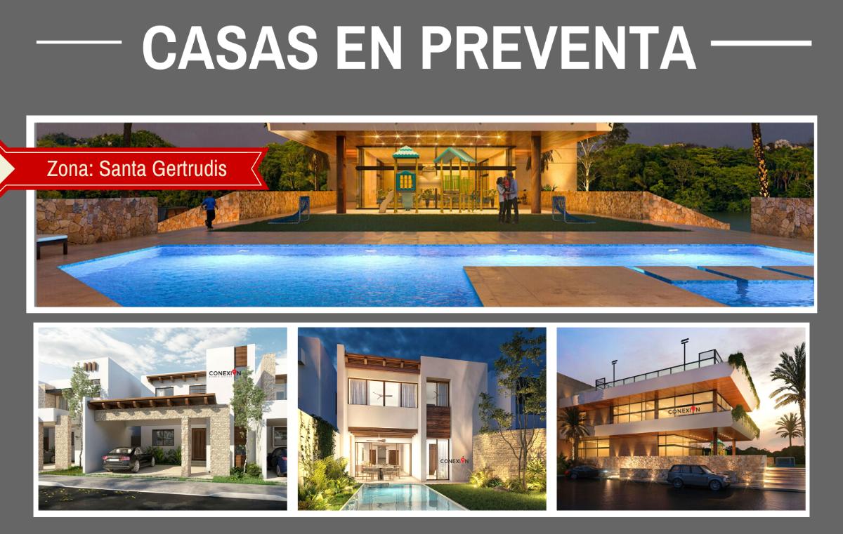 1 de 10: Casas en Preventa en Mérida, Yucatán.