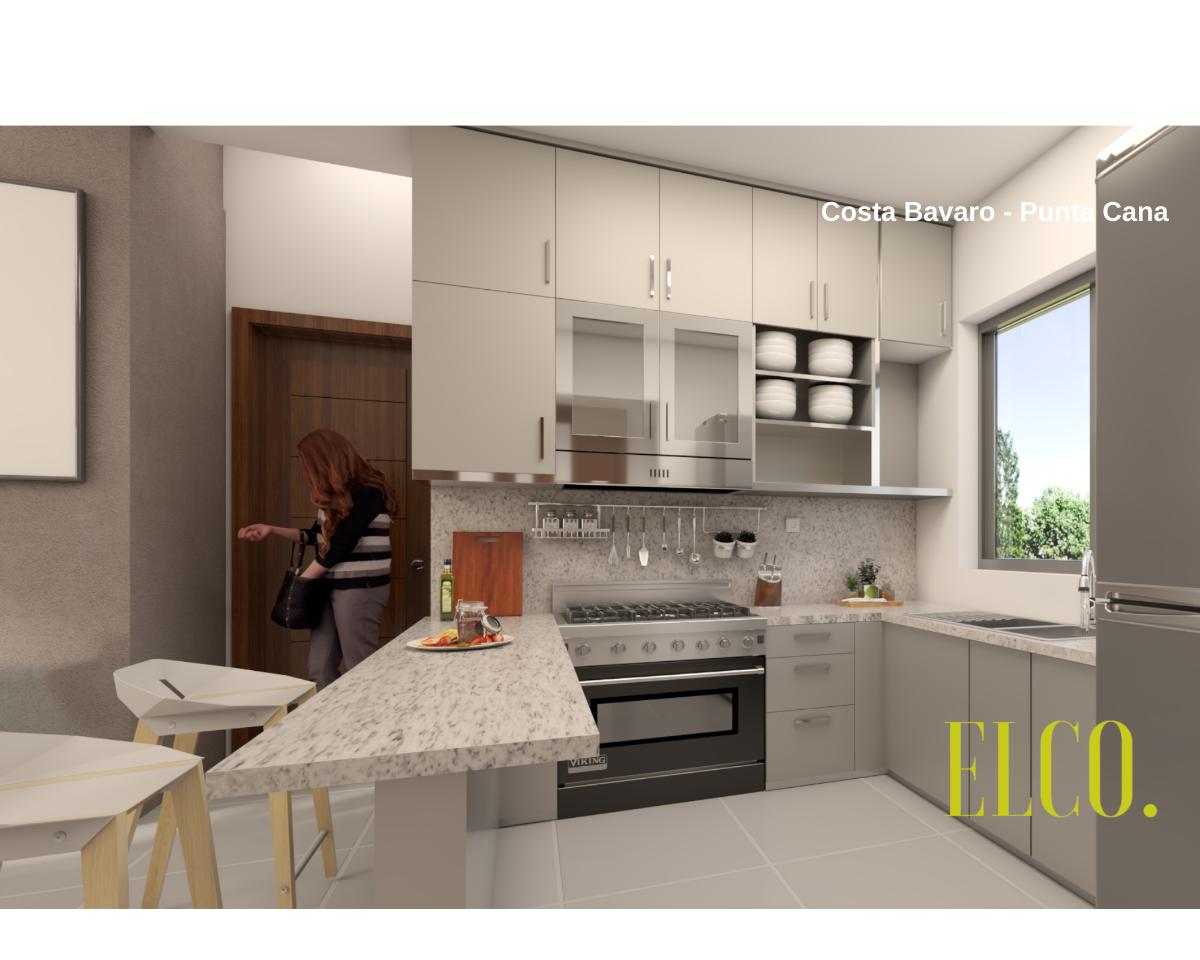 13 de 19: Apartamento de inversion bavaro punta cana 2 dormitorios