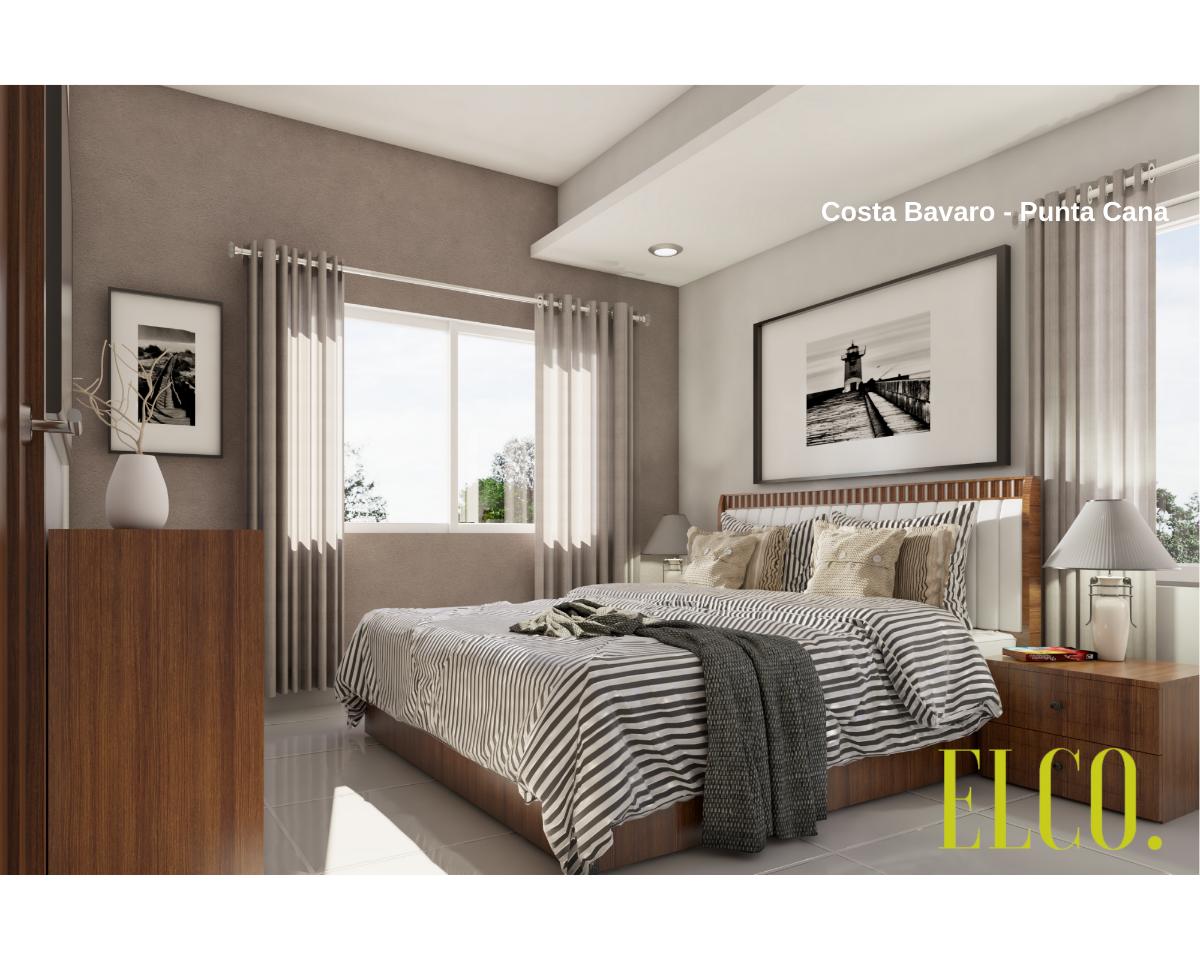 14 de 19: Apartamento de inversion bavaro punta cana 2 dormitorios