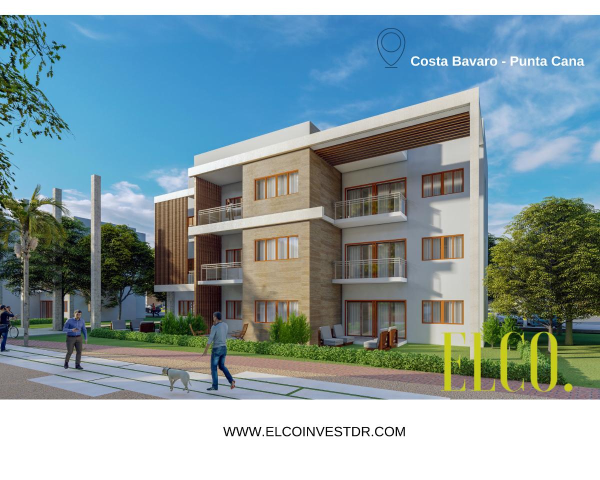 2 de 16: Apartamento de inversion bavaro punta cana 2 dormitorios