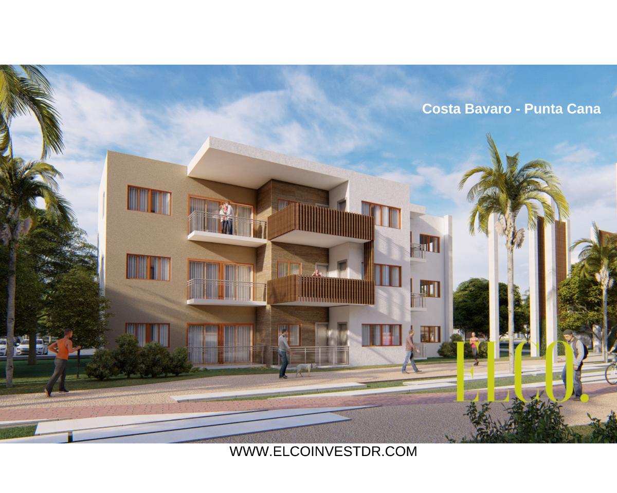 3 de 16: Apartamento de inversion bavaro punta cana 2 dormitorios