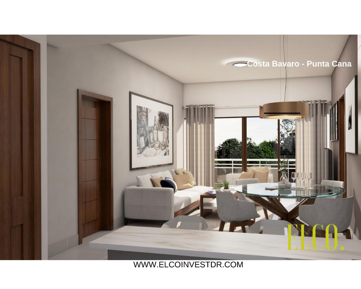 5 de 16: Apartamento de inversion bavaro punta cana 2 dormitorios