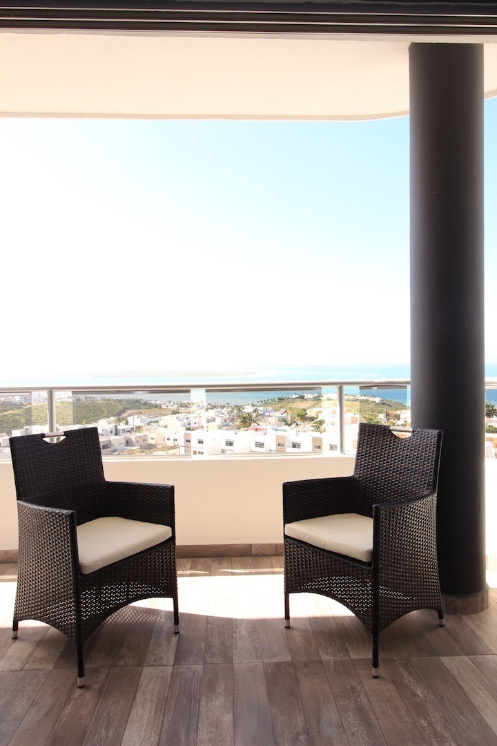 2 de 17: Vista desde el balcon