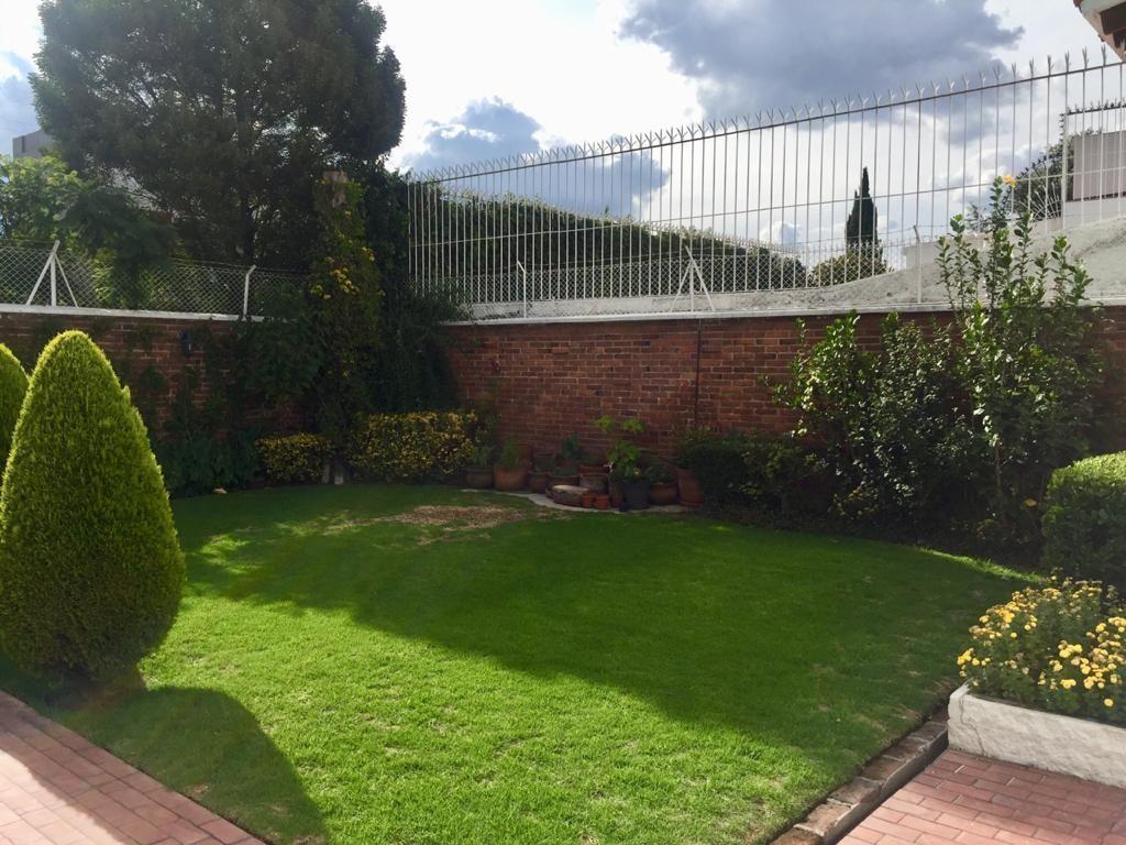 8 de 25: Hermoso jardín en la parte trasera