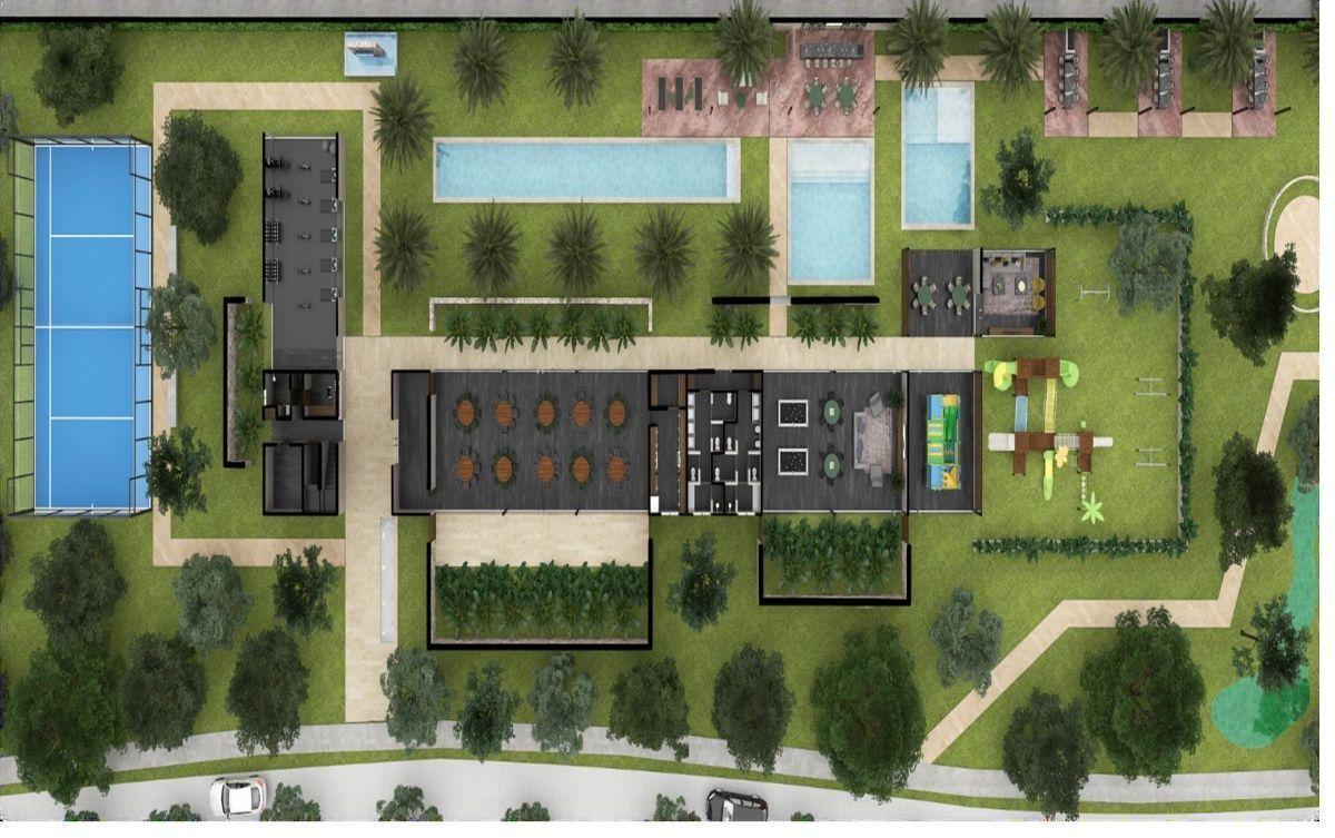 27 de 30: Plano Planta  Baja Casa Club
