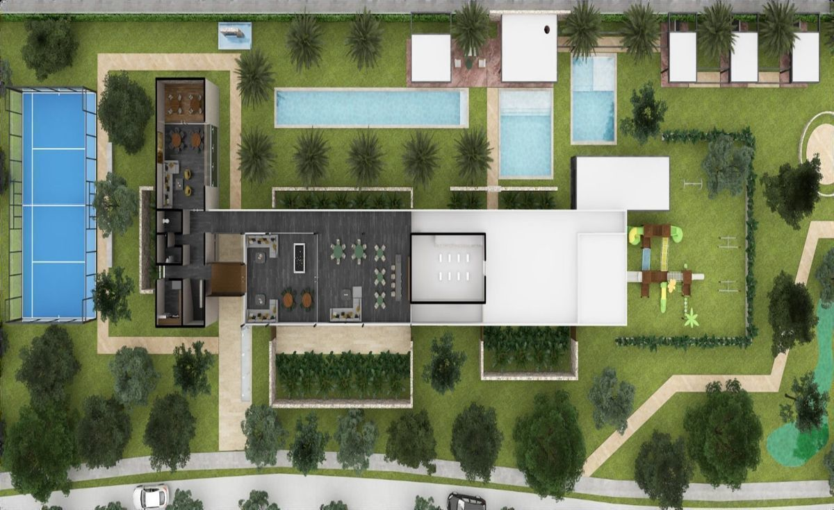 28 de 30: Plano Planta Alta Casa Club