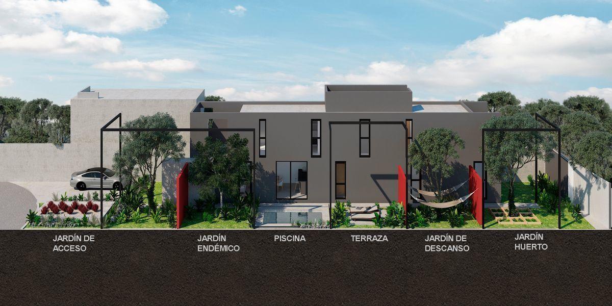 2 de 5: Vista de la distribución de la casa
