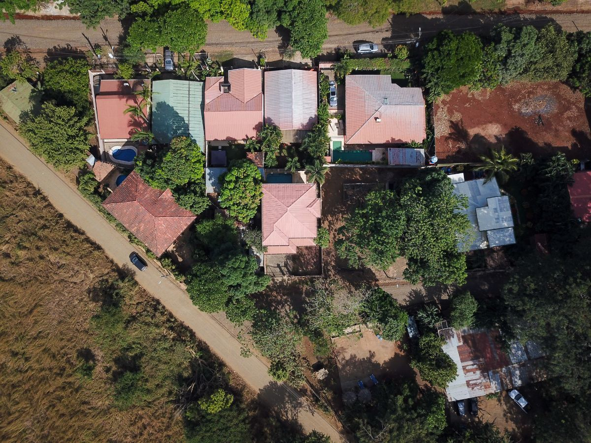 19 of 19: Aerial view of the house