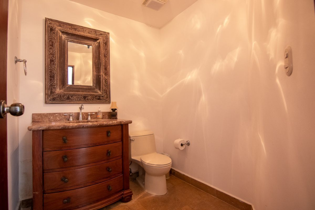 16 of 20: Half bathroom